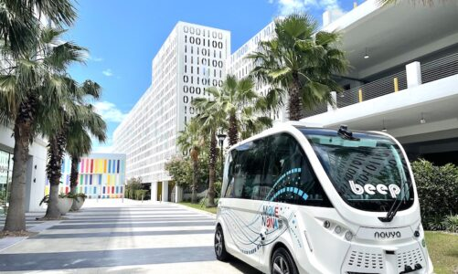 Peachtree Corners partners with T-Mobile to launch autonomous shuttle buses